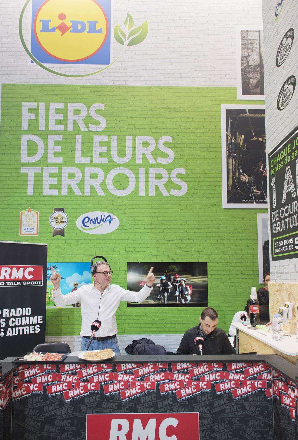 RFM SUR LE STAND LIDL FRANCE SIA 2019
