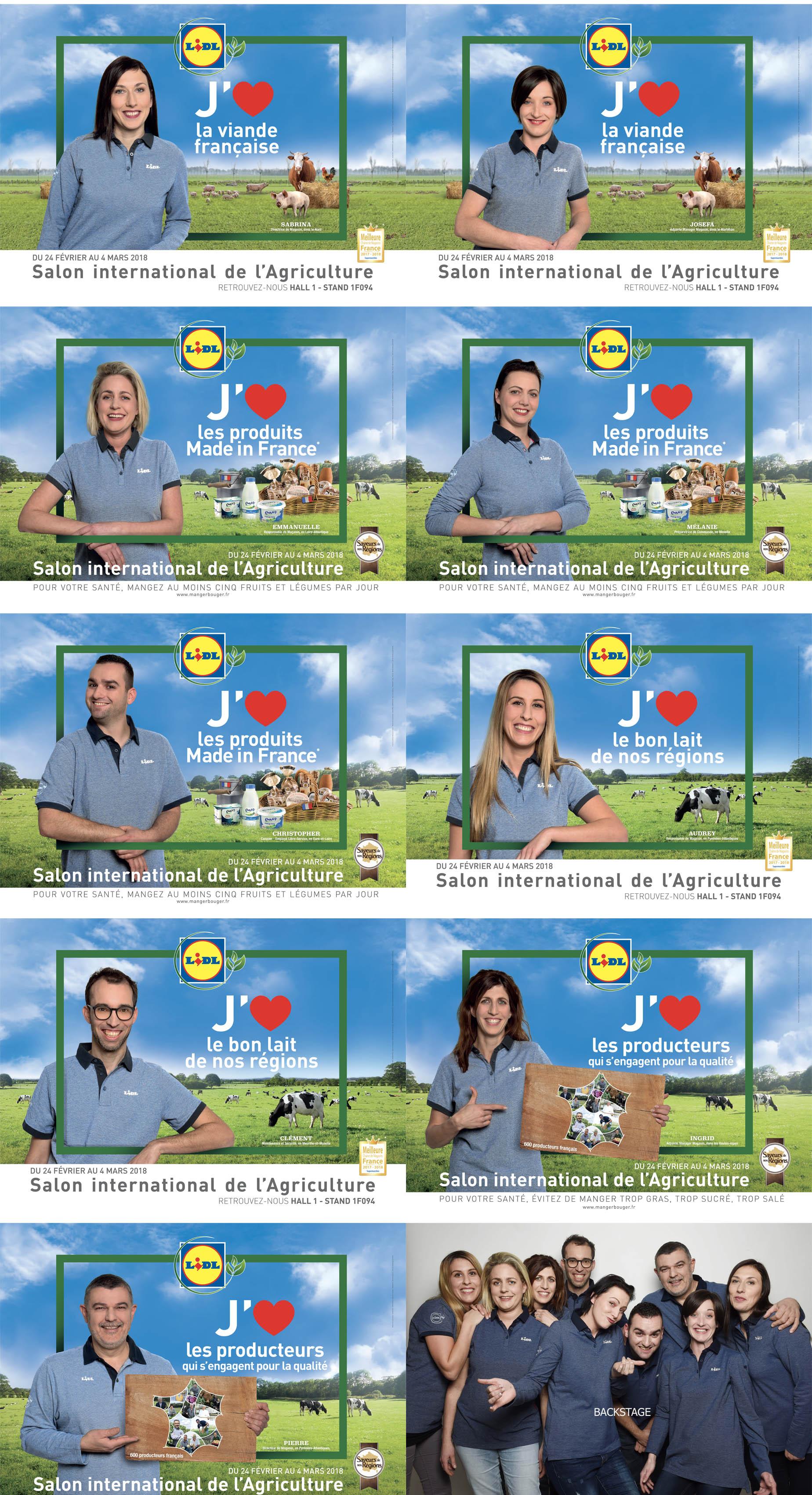 CAMPAGNE DE COMMUNICATION SALON INTERNATIONAL DE L'AGRICULTURE 2018